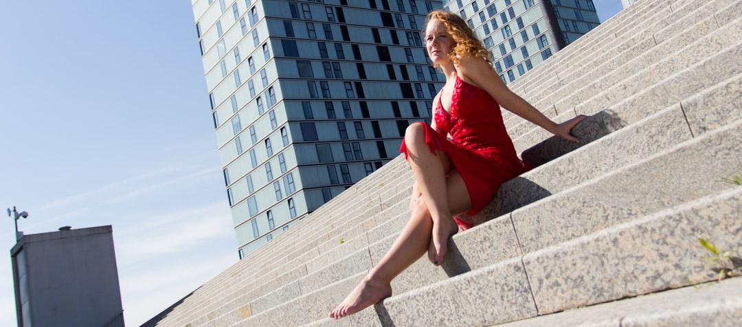 Lifestyle Reportage Mooie portretten in Almere Centrum