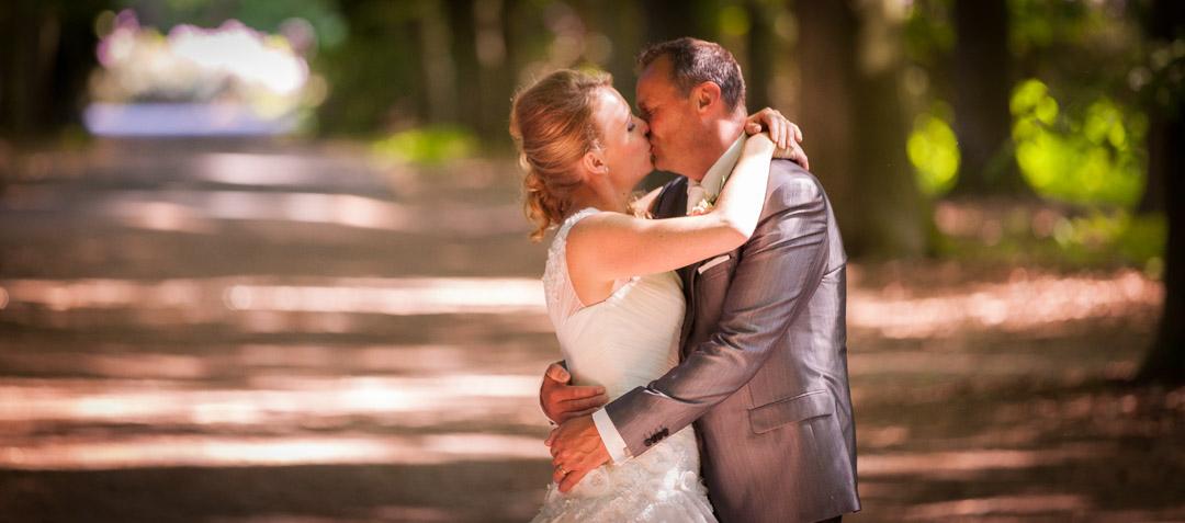 Bruidsreportage bij Kasteel Hoge Vuursche te Baarn