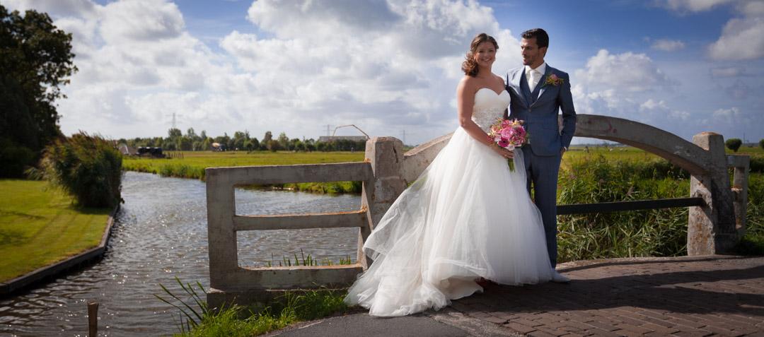 Bruidsreportage in de De Zaanstreek