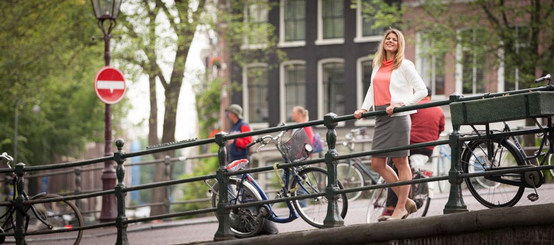 zakelijk portret fotoshoot Jordaan Amsterdam
