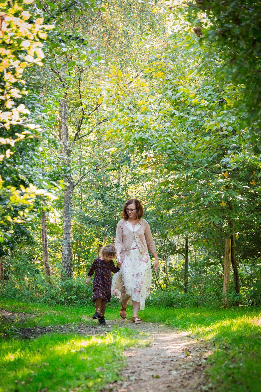 Een lifestyle fotoreportage van een alleenstaande moeder en haar dochter.