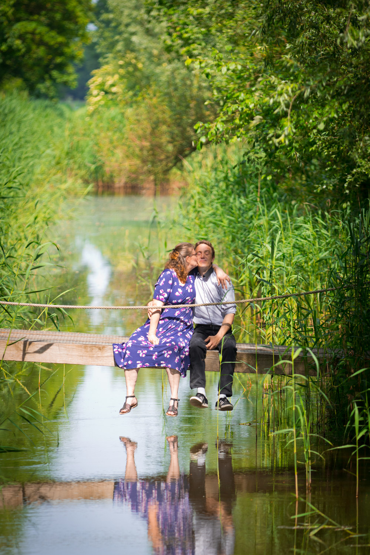 """Lifestyle Fotoshoot """"Vier de liefde samen"""" is een loveshoot op locatie. Dit keer op Stadslandgoed de Kemphaan."""