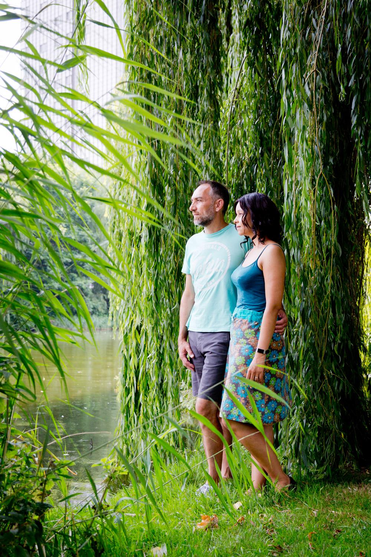 Lifestyle Loveshoot Vier de liefde samen in Almere Filmwijk