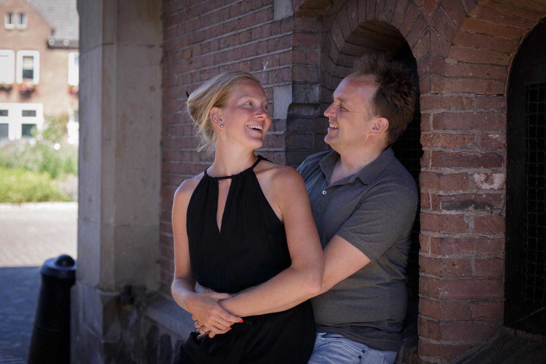 Lifestyle Loveshoot Vier de liefde samen in Naarden Vesting