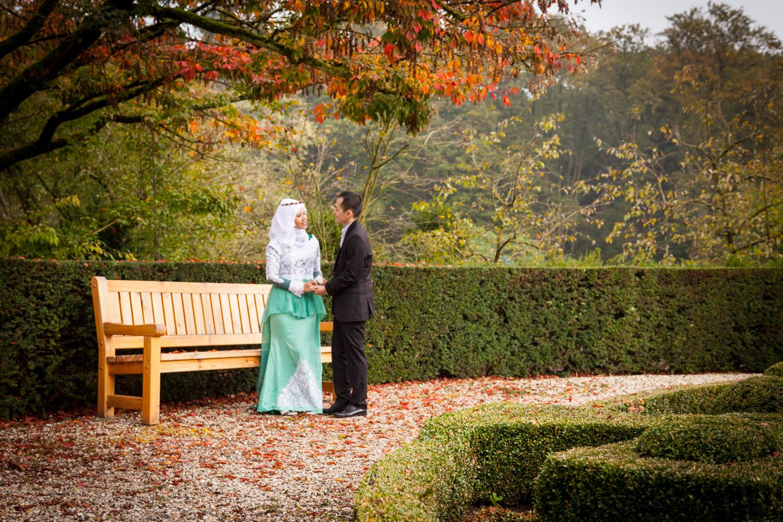 Lifestyle Loveshoot Vier de liefde samen in de tuinen van Paleis Soestdijk