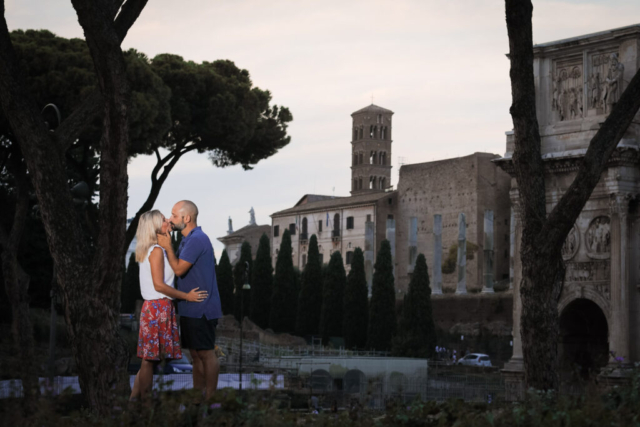Lifestyle Loveshoot Vier de liefde samen in Rome