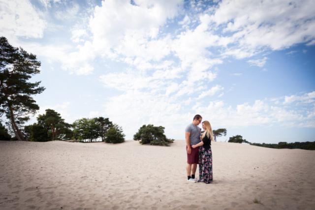 Lifestyle Loveshoot Vier de liefde samen in de Soesterduinen