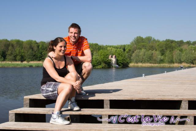 Pre Wedding Shoot in het Beatrixpark te Almere
