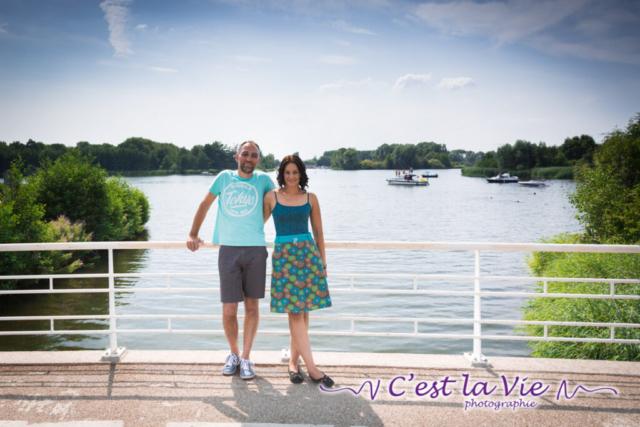 Pre Wedding Shoot bij het Weerwater te Almere