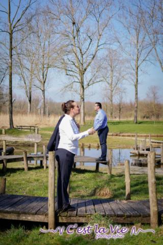 Pre Wedding Shoot op Stadslandgoed de Kemphaan te Almere